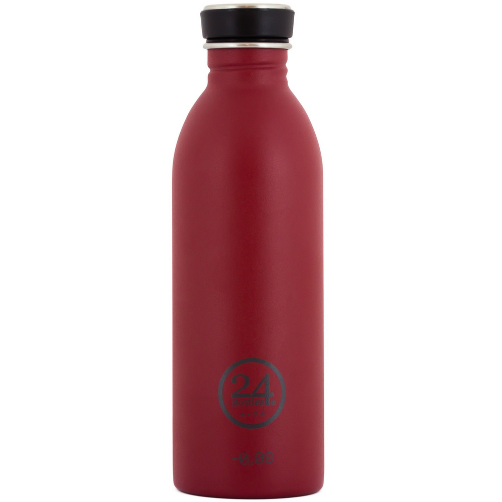 Image of   Drikkeflaske - Urban Bottle 0,5 L - Stone finish - Country Red