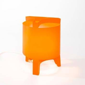 Image of   Orbit Mini - Bordlampe (Orange)