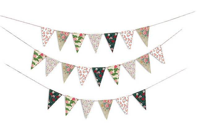 Image of   Flag - Floral Party Flags