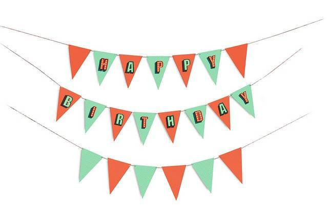 Image of   Flag - Birthday Party Flags