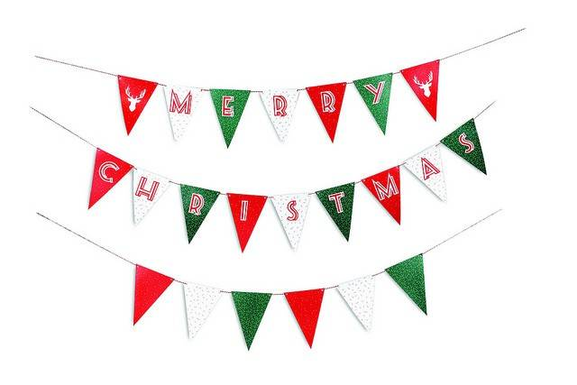 Image of   Flag - Christmas Party Flags