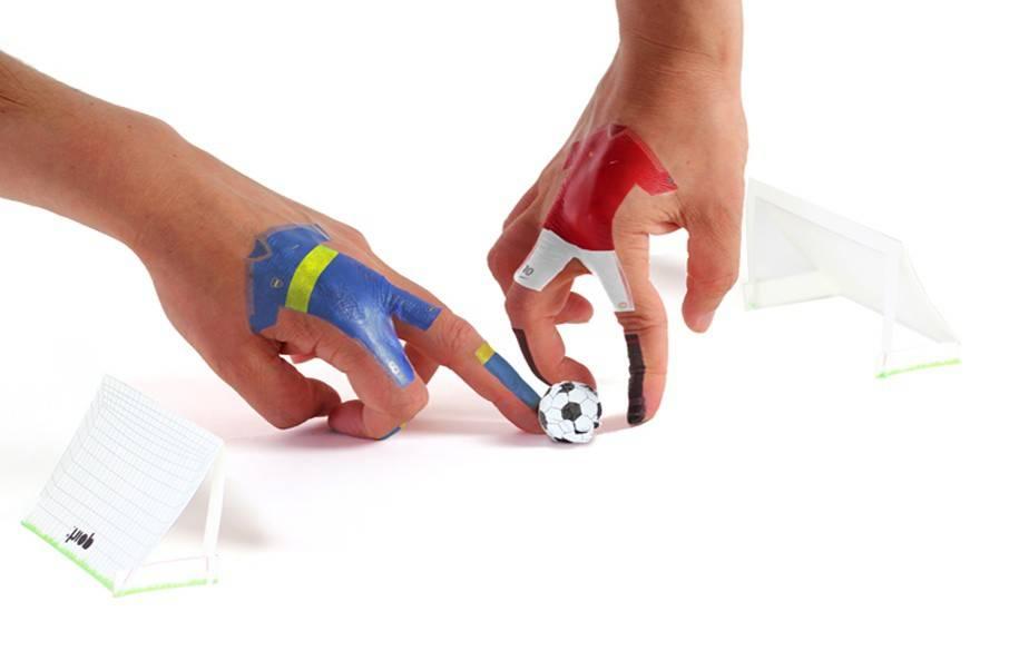 Image of   Finger fodbold - Finger Ball