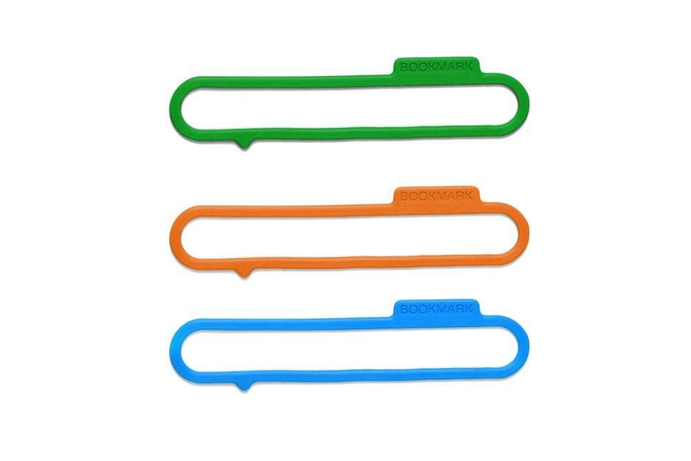 Image of   Bogmærke - Bookmark rubber (3stk / pakke)