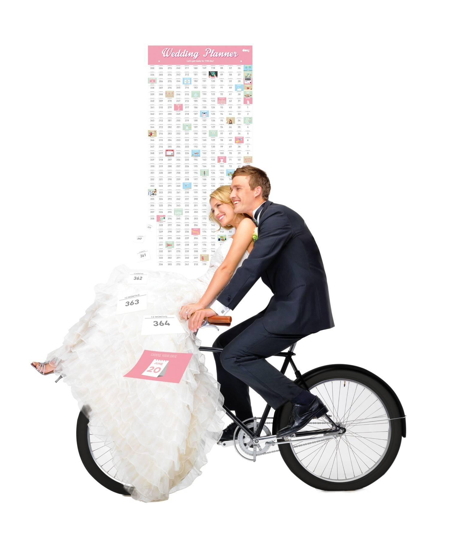 Image of   Bryllups nedtællingskalender - Wedding Planner