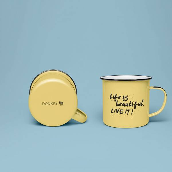Krus - Enamel Quotes (Life is Beautiful) thumbnail