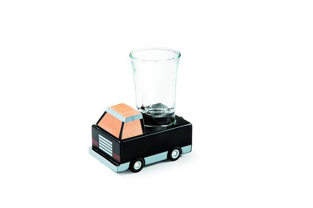 Shotsglas - Drink & Drive - Lille (Sort) thumbnail