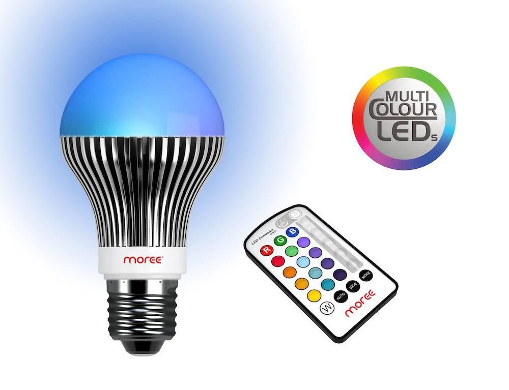 LED-pære med fjernbetjening thumbnail