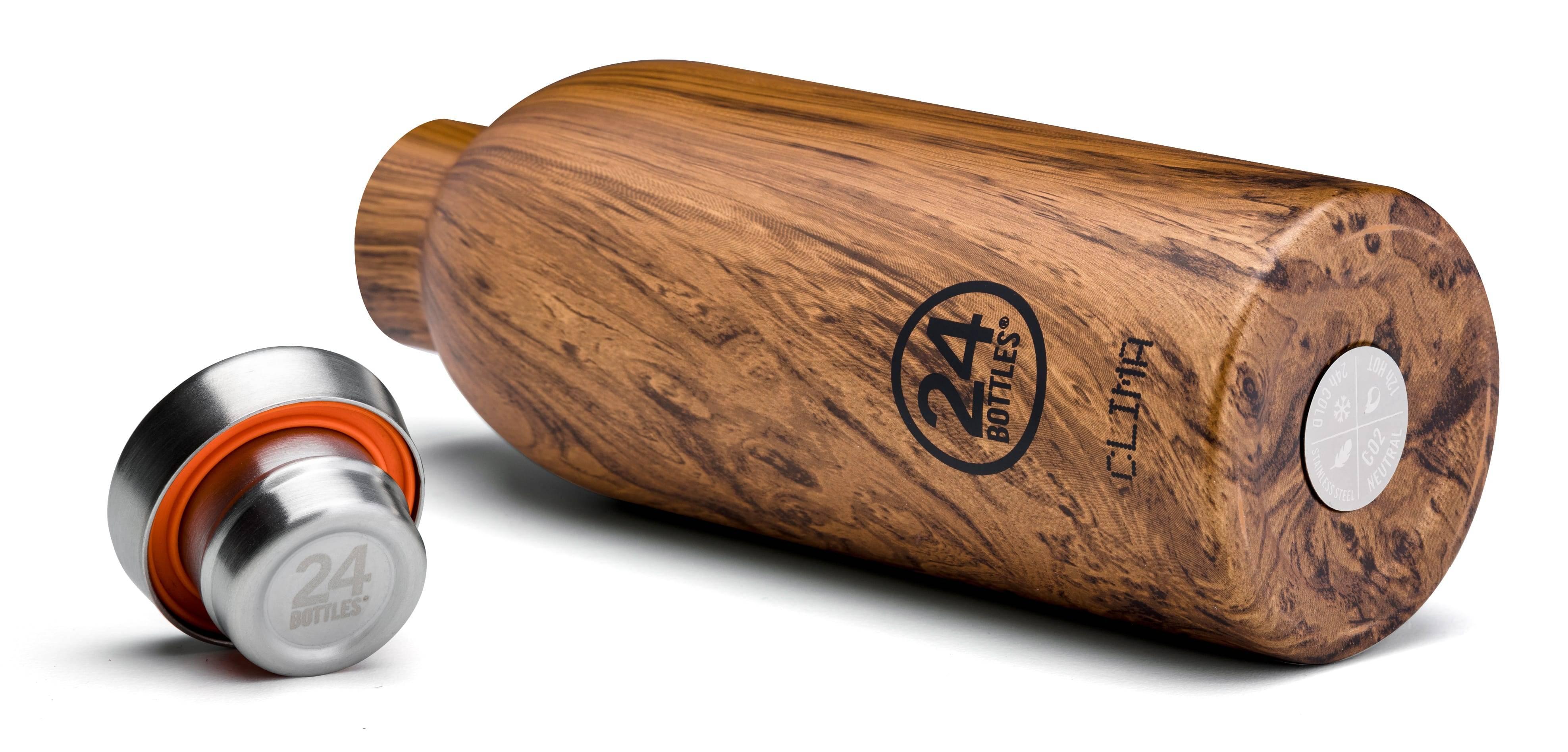 Image of 24Bottles - Clima - Termoflaske - Sequoia Wood - 500 ml