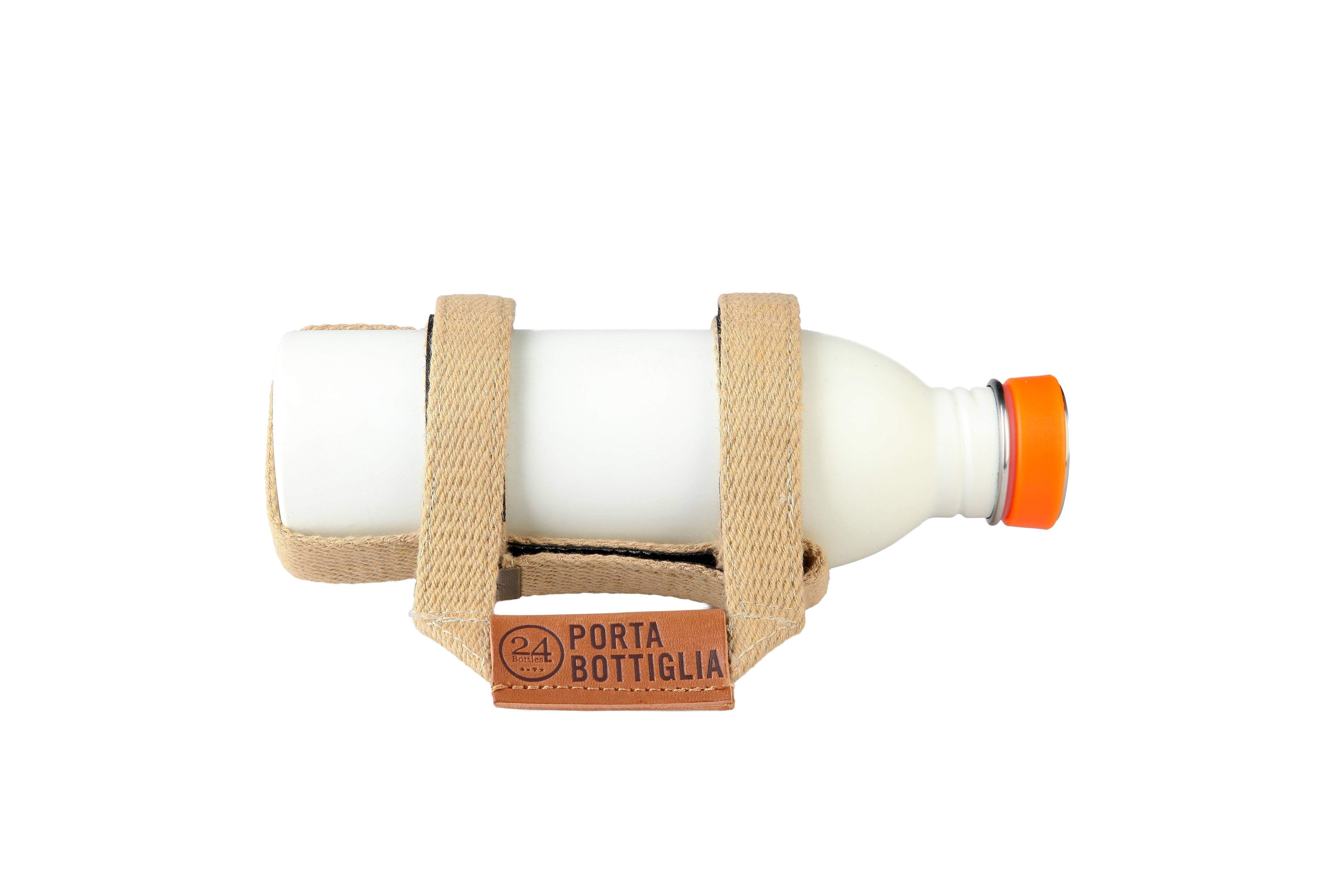 Image of   Flaskeholder - Porta Bottiglia - Sabbia