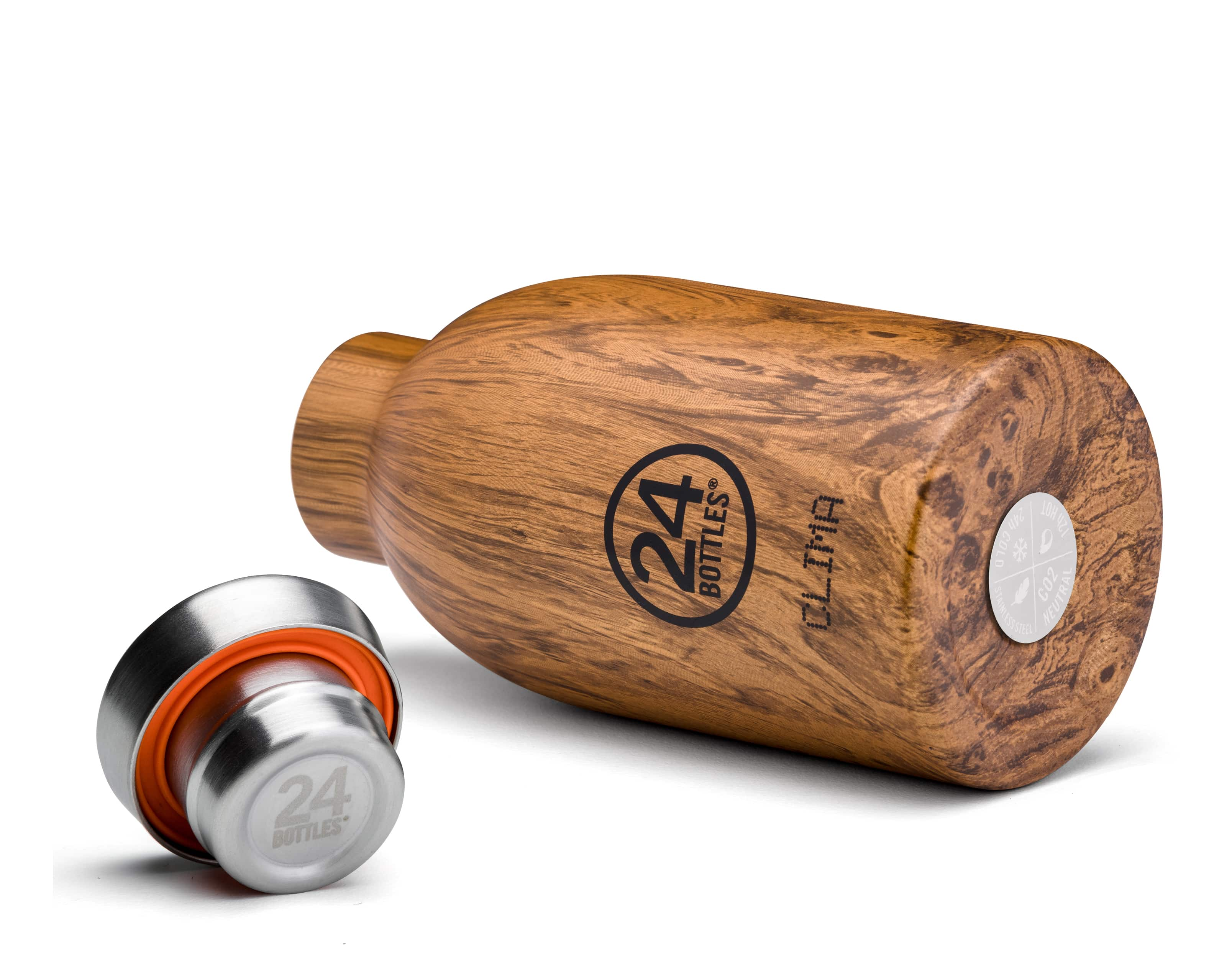 Clima, 330 ml termoflaske - Sequoia Wood thumbnail