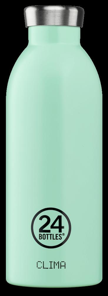 Image of   24Bottles - Clima - Termoflaske - Aqua Green - 500 ml