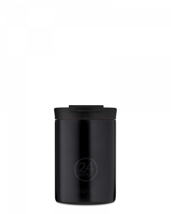 Image of   24Bottles - Travel Tumbler - Termokrus - Tuxedo Black - 350 ml
