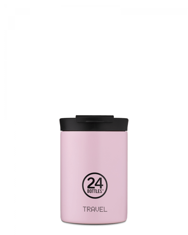 Image of   24Bottles - Travel Tumbler - Termokrus - Candy Pink - 350 ml