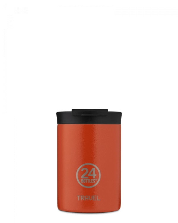Image of   24Bottles - Travel Tumbler - Termokrus - Sunset Orange - 350 ml