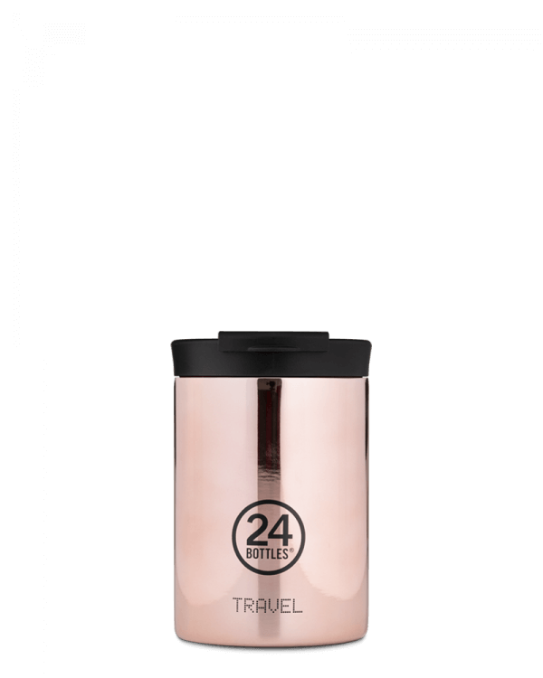 Image of   24Bottles - Travel Tumbler - Termokrus - Rose Gold - 350 ml