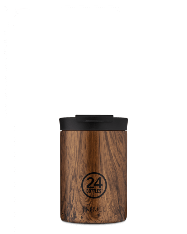 Image of   24Bottles - Travel Tumbler - Termokrus - Sequoia Wood - 350 ml