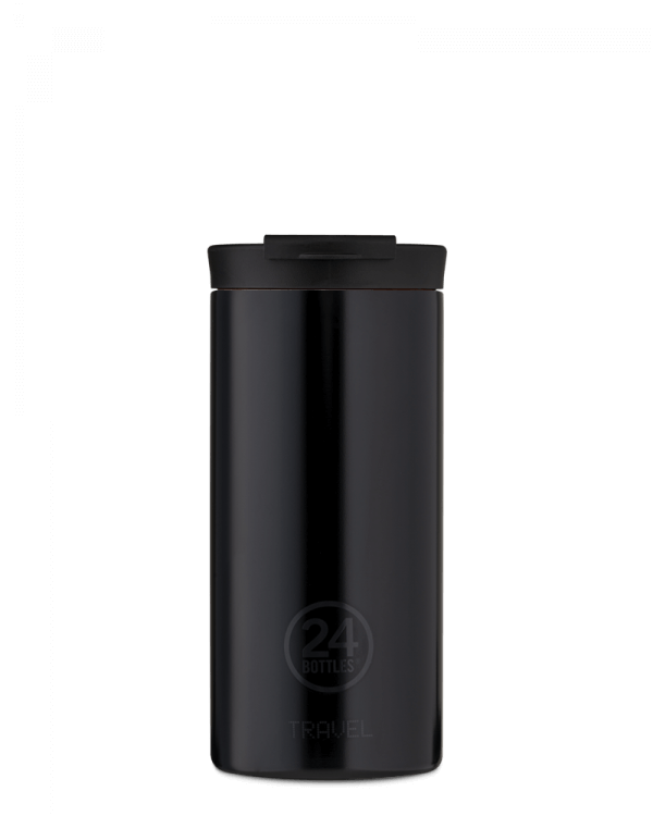Image of   24Bottles - Travel Tumbler - Termokrus - Tuxedo Black - 600 ml