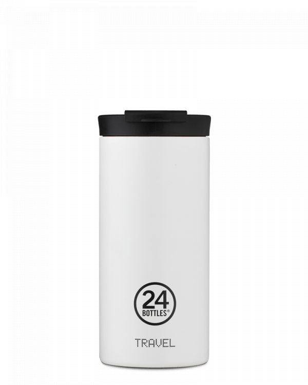 Image of   24Bottles - Travel Tumbler - Termokrus - Ice White - 600 ml