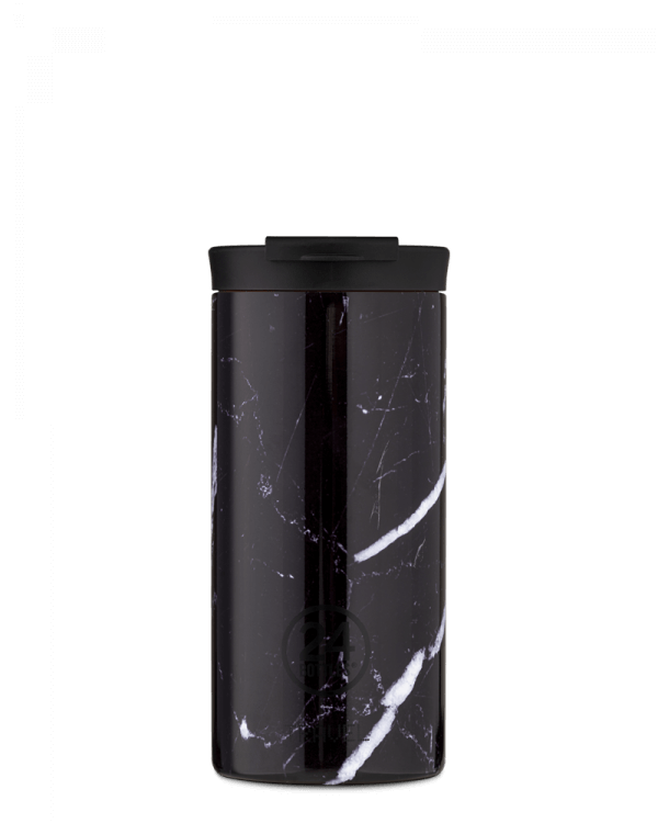 Image of   24Bottles - Travel Tumbler - Termokrus - Black Marble - 600 ml