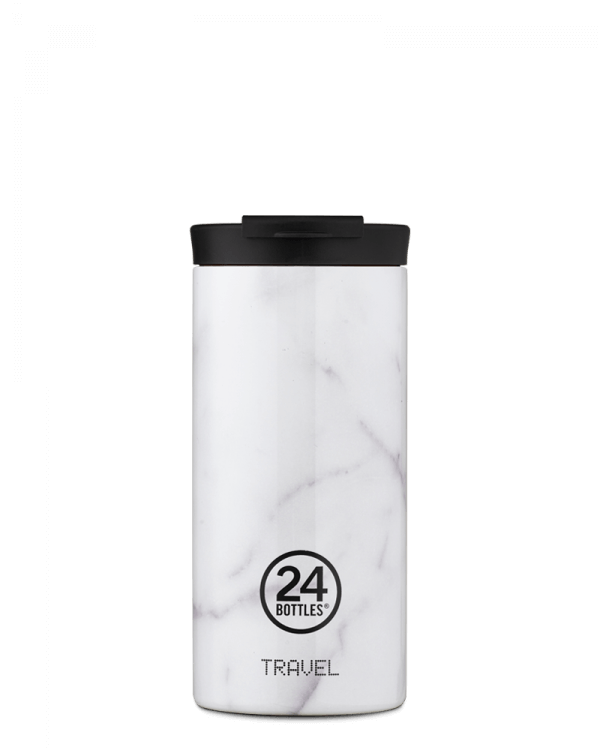 Image of   24Bottles - Travel Tumbler - Termokrus - Carrara - 600 ml