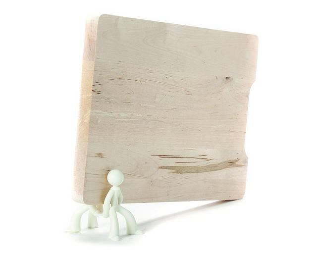 Image of   Holder til skærebræt - Board Brothers (Hvid)