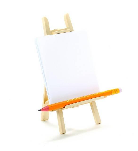 Image of   Memoholder - Arty (Creme)