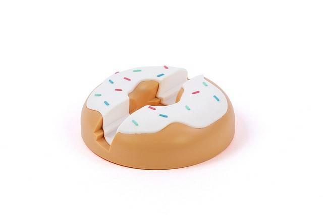 Image of   iPad Holder - Doughnut (Hvid)