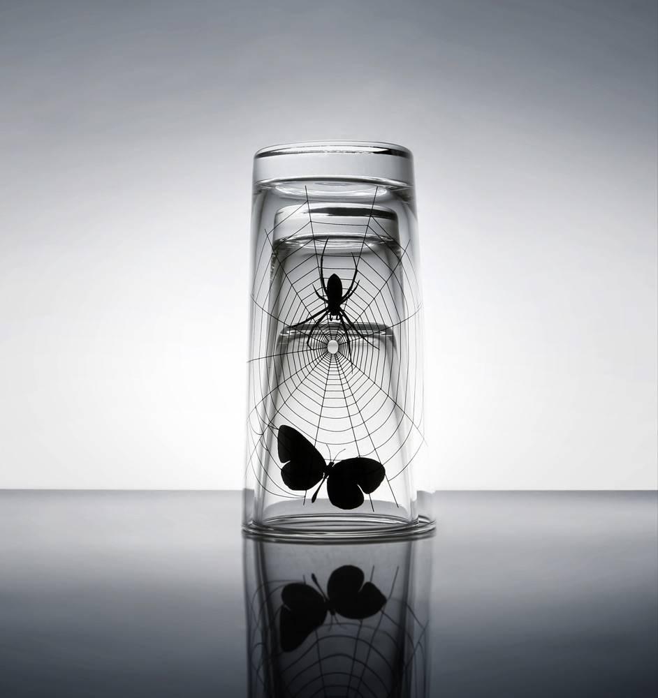 Image of   Glas sæt - Spider (3 stk / sæt)