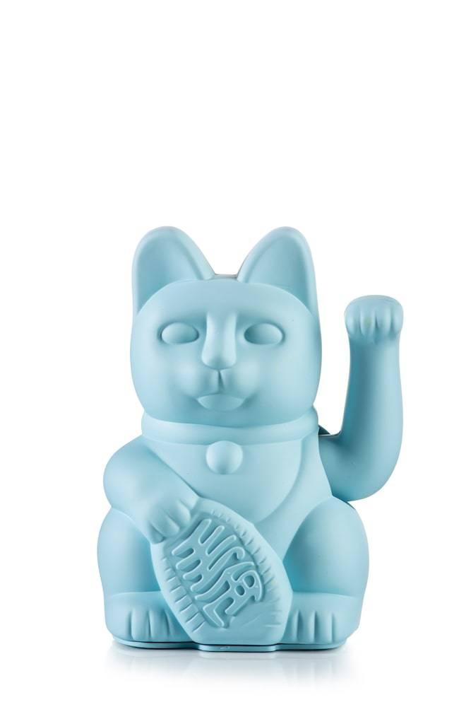 Vinkekat - Maneki-Neko - Lucky Cat (Blå) thumbnail