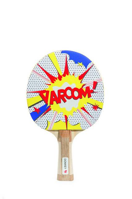 Image of   Bordtennisbat - Varooom! (Indeholder 2 bordtennisbolde)