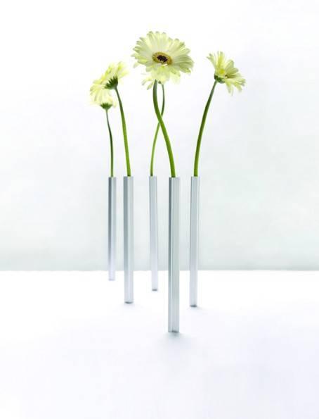 Image of   Magnetiske vaser (Sølv)