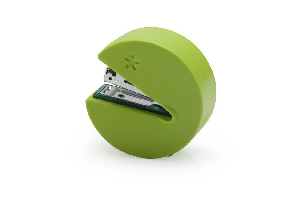 Image of   Hæftemaskine - Stap man (Grøn)