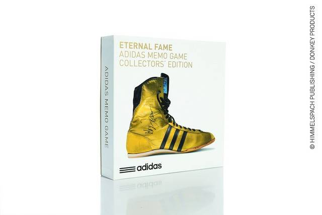 Image of   Vendespil - Adidas Memo Game (Eternal Fame-Boxing Legend)