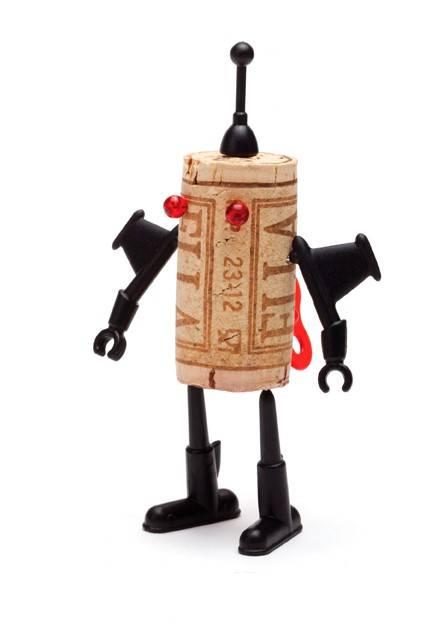 Image of   Korknåle - Corkers Robots (Yuri)