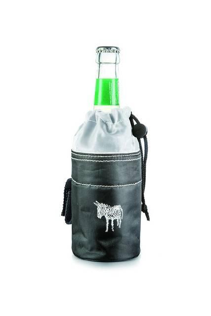 Image of   Cykeltaske til flaske - Donkey Bottle Bag (Sort/Hvid)