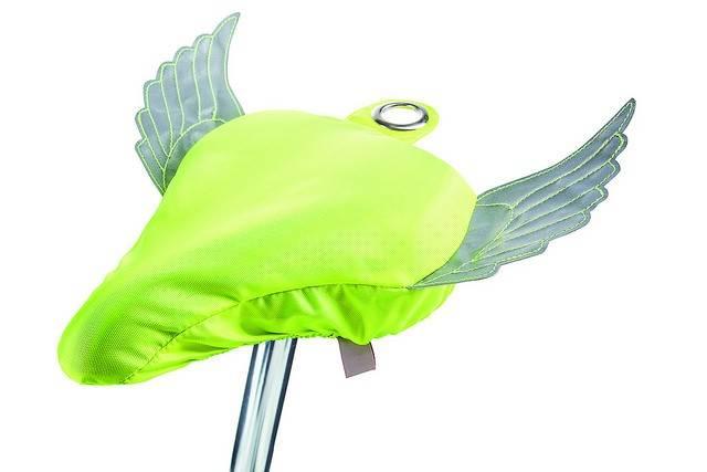 Sadelovertræk - Flying Bike (Neon gul) thumbnail