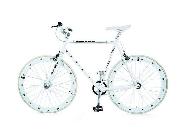 Image of   Cykelrefleks - Bikereflex (Sølv cross)