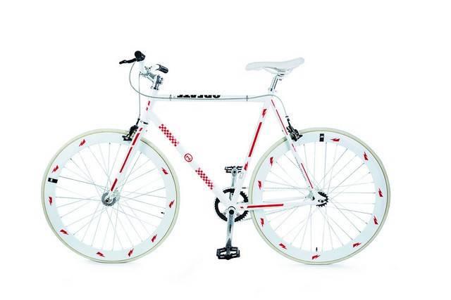 Image of   Cykelrefleks - Bikereflex (Rød racer)