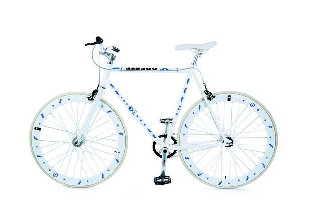 Image of   Cykelrefleks - Bikereflex (Blå hipster)