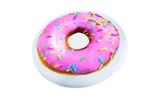 Image of   Frisbee - Spinning Donut