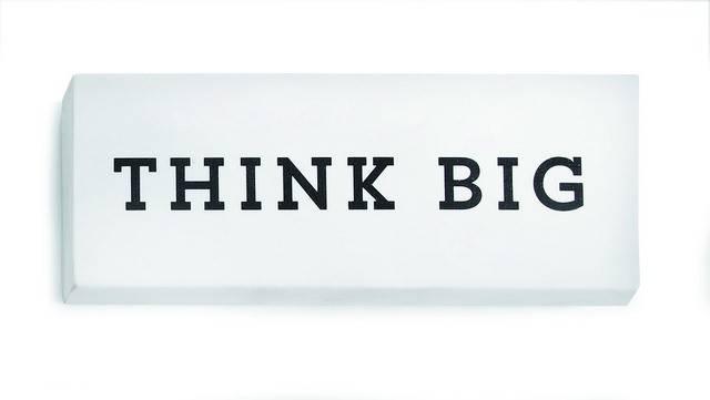 Viskelæder - Think Big (XXXL viskelæder) thumbnail