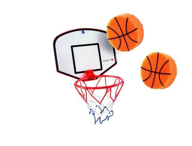 Image of Basketball sæt til badekar - Basket Bubble