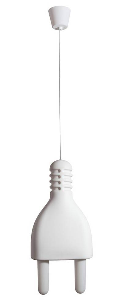 Billede af Lampe - Plug Lamp (Hvid)
