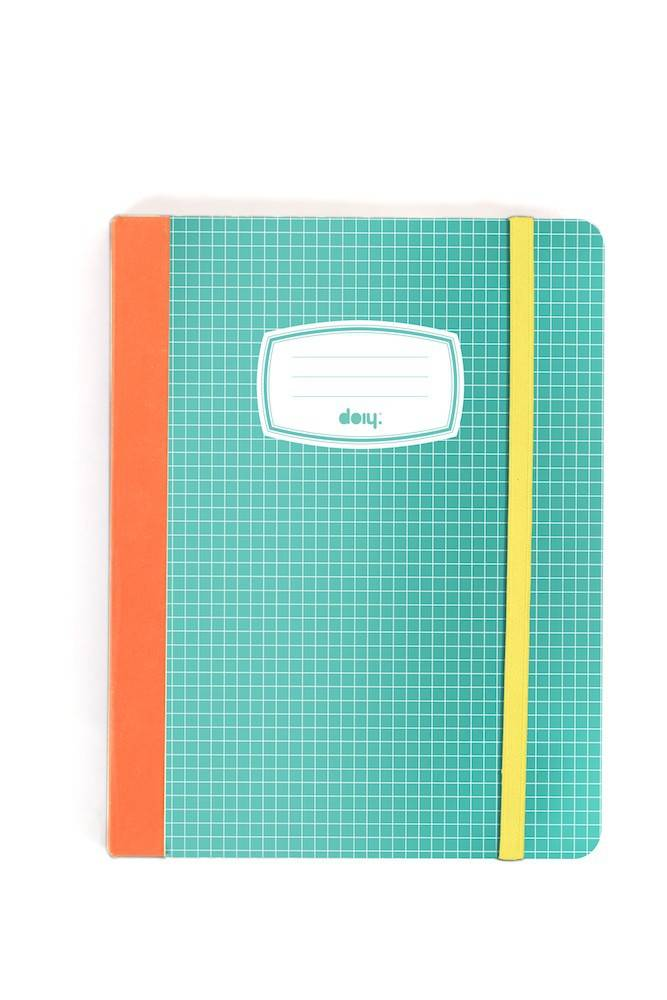 Image of   Ipad Cover - Notesbog (Farve)