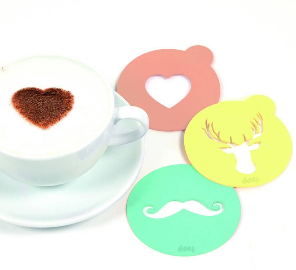 Image of   Kaffe skabeloner - Hip Coffee