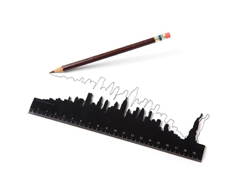 Image of   Lineal - Skyline Rulers (New York)