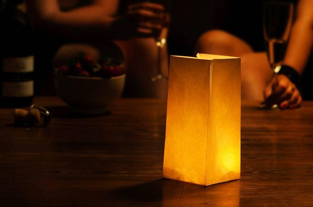 Image of   Luo - 10 stk. lanterne poser (fyrfadsstage)