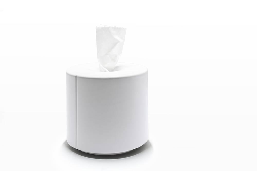 Image of   Tobo - servietholder (Hvid)