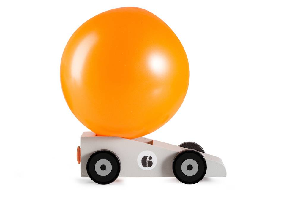 Image of   Ballon bil - Balloon Racer (Silverstar)