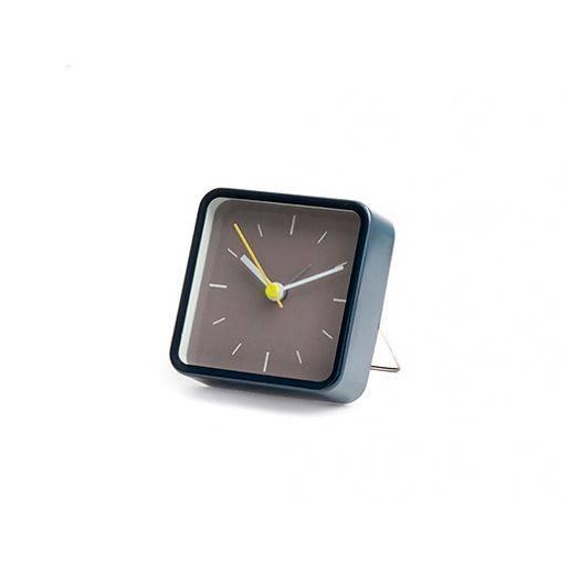 Image of   Vækkeur - Square Alarm Clock (Blå)
